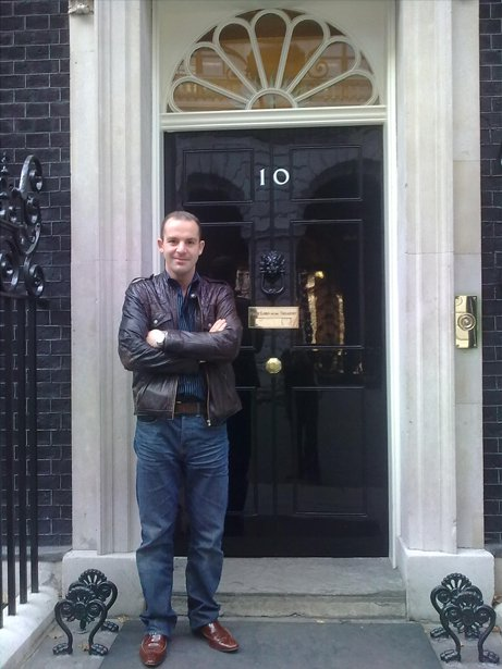 MARTIN LEWIS, MONEY SAVING EXPERT, AT NUMBER 10