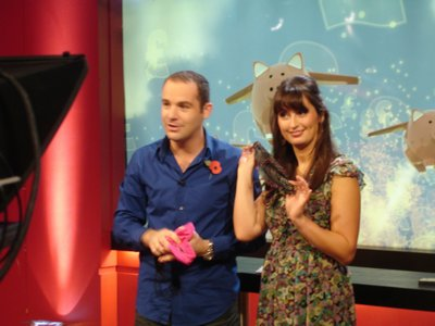 Martin Lewis It Pays To Watch - Knickers shoot