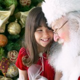 Read letters from blind children to Santa