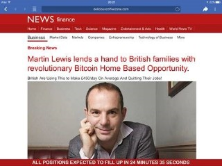 Martin lewis to sue facebook for defamation in groundbreaking below is the look a like fake bbc news piece that the above advert linked to ccuart Gallery