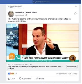 Martin lewis to sue facebook for defamation in groundbreaking below is the look a like fake bbc news piece that the above advert linked to ccuart Image collections